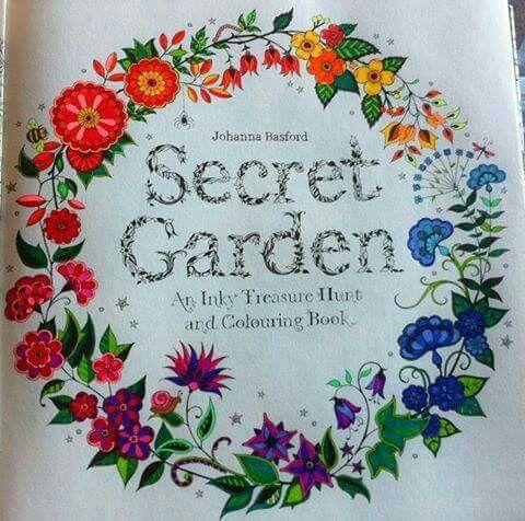 30 Best Coloring Secret Garden Images On Pinterest