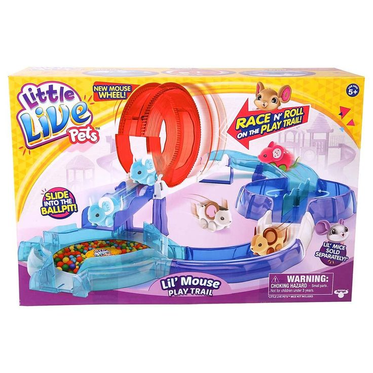 Little Live Pets S2 Lil Mouse House Trail | Moose Toys