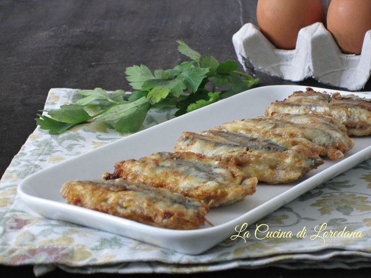 Una ricetta semplice e sfiziosa per preparare il pesce: Alici ripiene fritte, buone e gustose da conquistare tutti a tavola