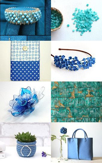 About the blue... by Mandarina on Etsy--Pinned with TreasuryPin.com