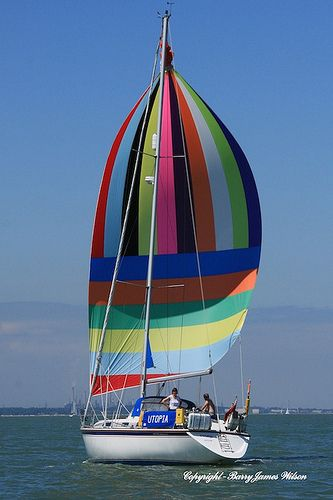Spinnakers | Barry James Wilson | Flickr