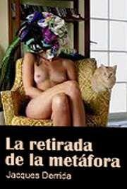 """""""La retirada de la metáfora"""" #Derrrida  Leelo en : http://www.ddooss.org/articulos/textos/derrida_metafora.pdf"""