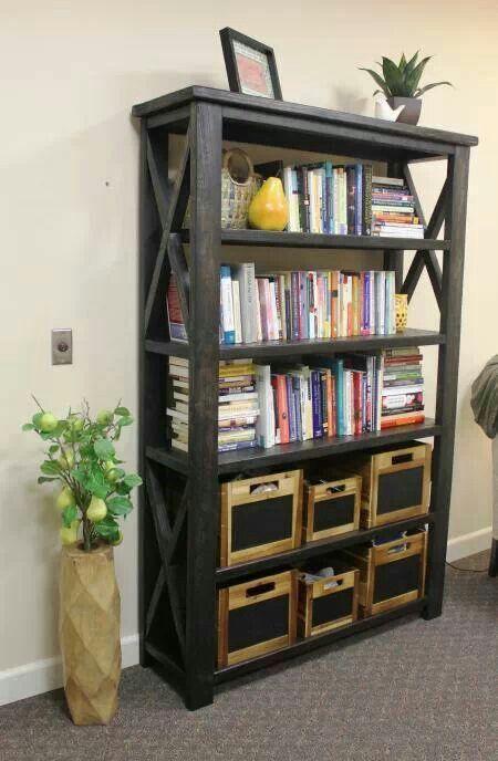 Anna White bookshelf