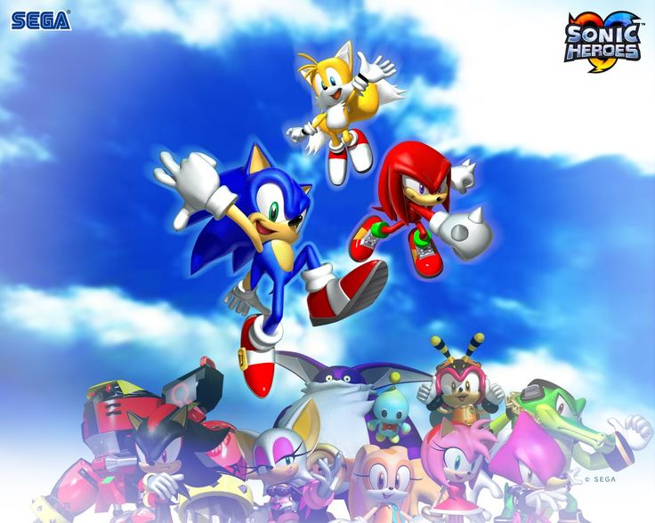 sonic heroes backround: images, walls, pics - sonic heroes category