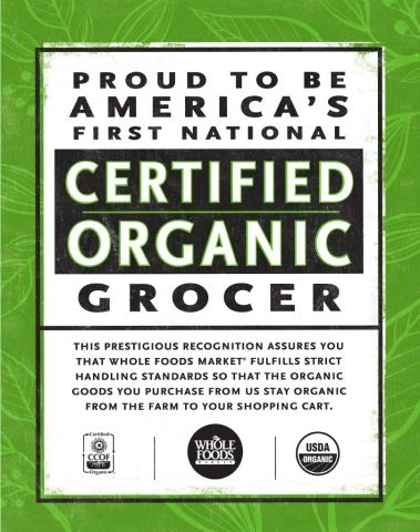 Your Certified Organic Grocery Store | Whole Foods Market