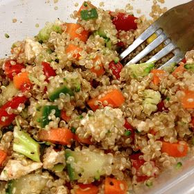 Four Seasons Kitchen: Healthy Lunch: Quinoa Salad