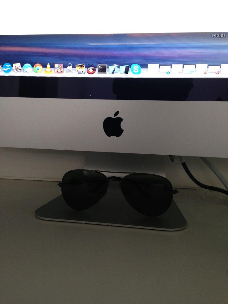 iMac with my shades Imac, Mac, Apple
