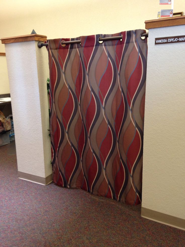 30 best cubicle corner images on pinterest office for Cubicle privacy ideas