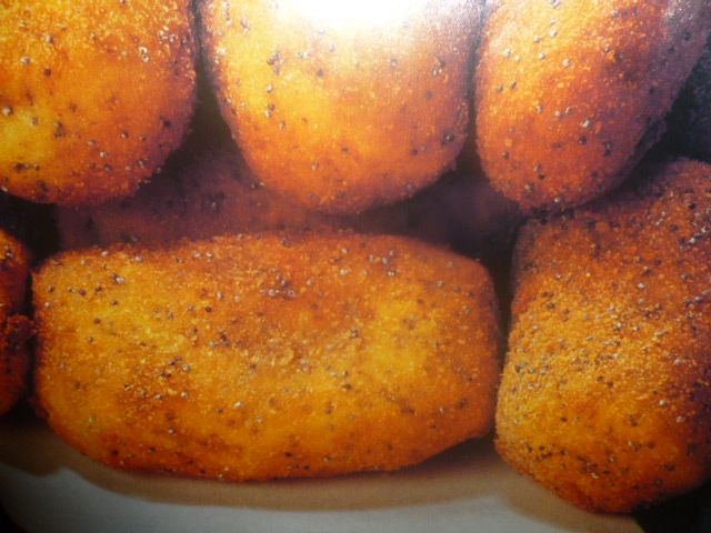 crocchette di patate - con cavolfiore