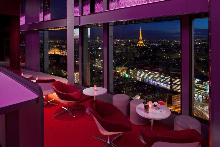 Le bar de l'Hôtel Concorde Lafayette
