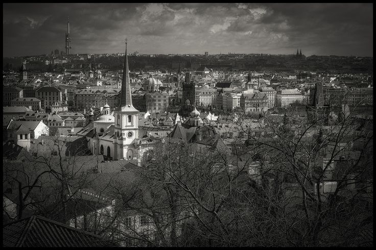Prague bw ll by Václav Verner on 500px