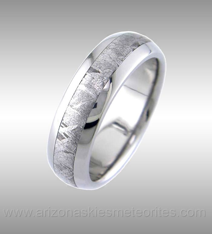 Finest Quality Anium Meteorite Ringeteorite Wedding Bands For At Aesthetic Meteorites We Specialize In Providing The