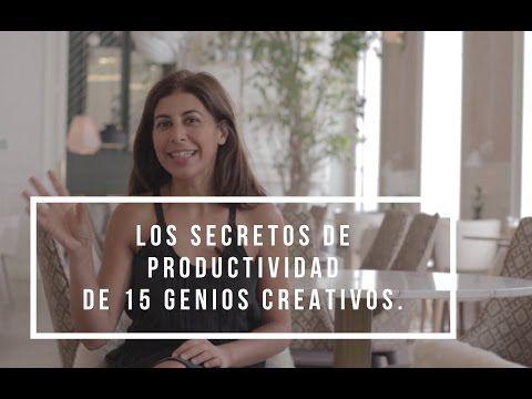 Los secretos de productividad de 15 genios creativos - Sparks and RocketsSparks and Rockets