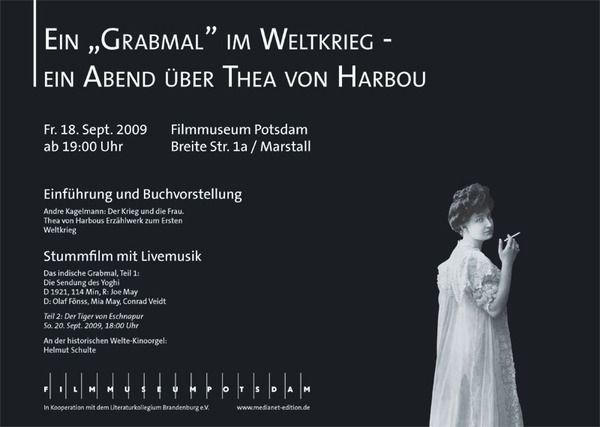 """Thea von Harbou ist u.a. die Drehbuchautorin von """"Metropolis""""."""