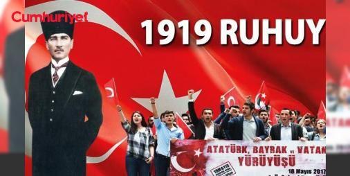 1919 ruhuyla: Mustafa Kemal Atatürk'ün sarayın teslimiyetçiliği ve emperyalizme karşı 98 yıl önce Samsun'da attığı adım, bugün hâlâ yolumuzu aydınlatıyor.