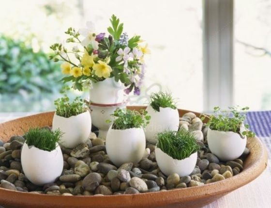 creative idea for the spring table