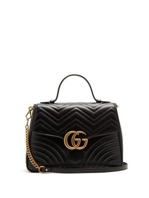 0f6e7278d03f Gucci GG Marmont small quilted-leather shoulder-bag | Elegant Bags ...