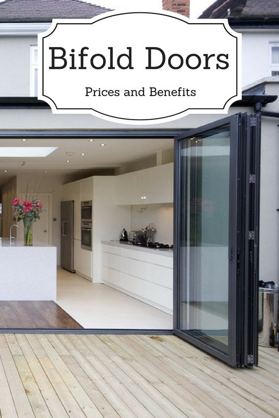 Bi-fold doors, also known as bi-folding or sliding folding doors are a popular external door option in the UK. A fantastic way to open up your home in the warmer months and provide more light all year round, the majority of bi-fold doors are installed on the back of a property leading out into a garden.  Get the best quotes from trusted, local & national bi-fold door installers. Bring the outside in today! #bifolds