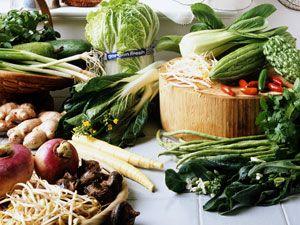 Время приготовления овощей