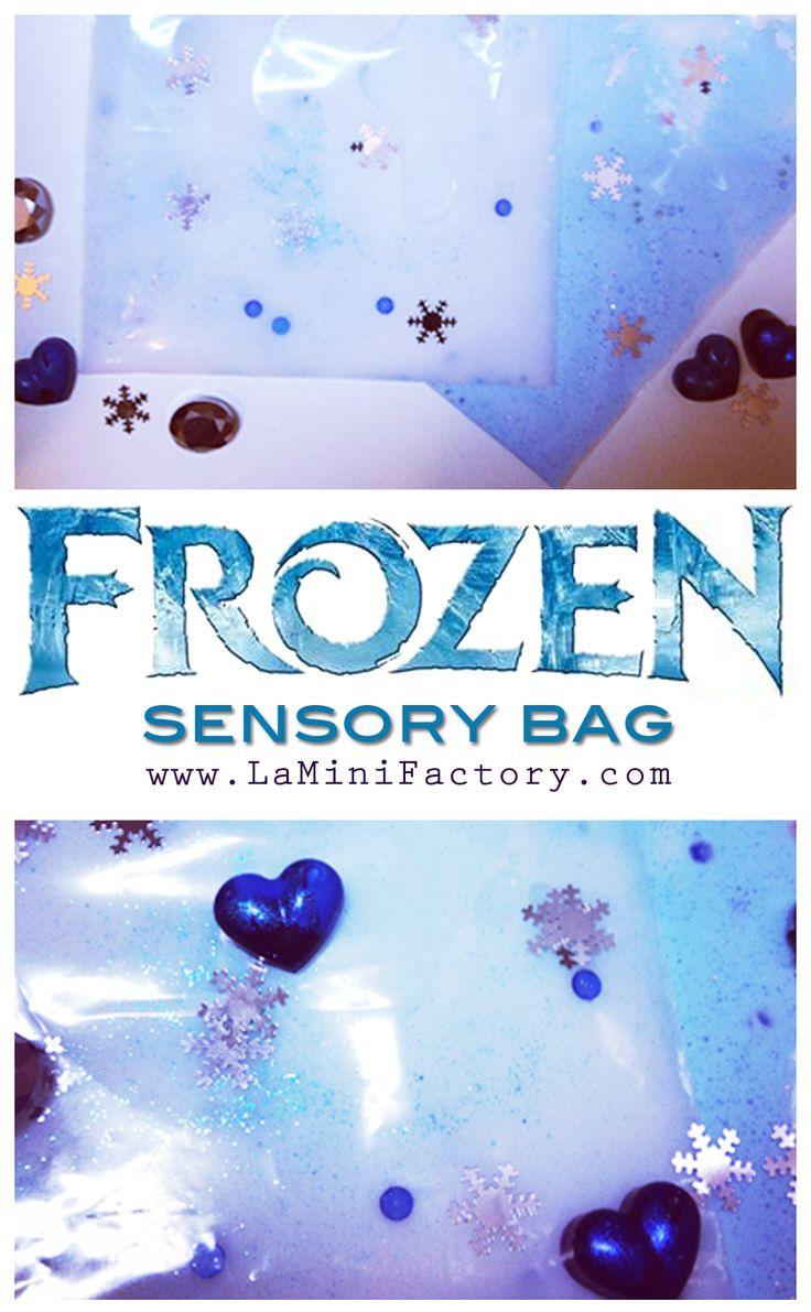 Frozen Sensory Bags | MiniFactory