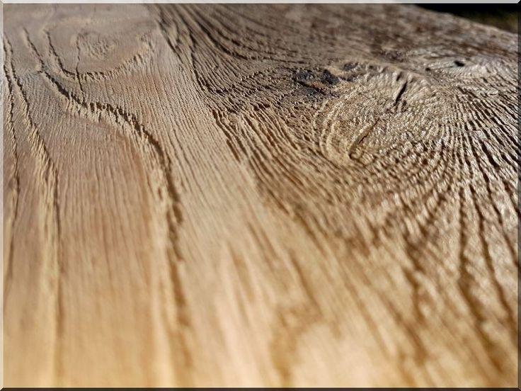 Natúr tölgy pad, nagy - Antik bútor, egyedi natúr fa és loft designbútor, kerti fa termékek, akácfa oszlop, akác rönk, deszka, palló