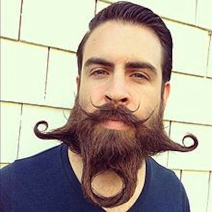 beard contest | ... beard competition. Example of beard design by Incredibeard