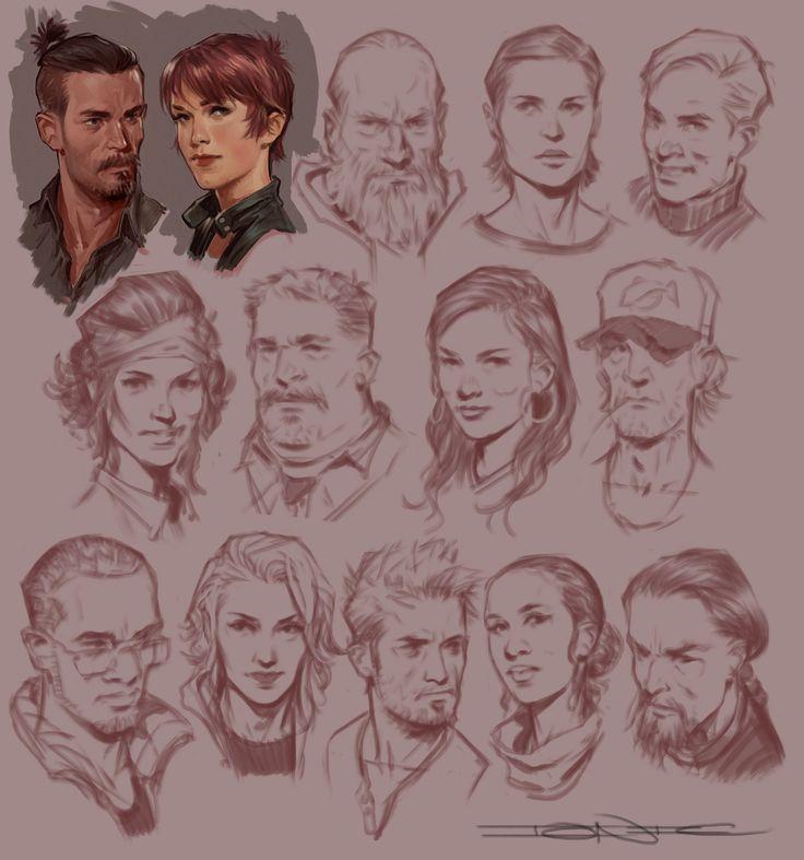 Faces, John Grello on ArtStation at https://www.artstation.com/artwork/faces-dee572c3-d98c-4a7a-98a8-d63f17df0aa2