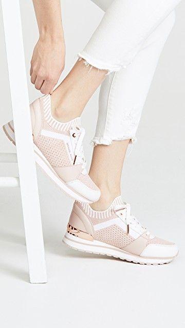6b2222ce435 MICHAEL MICHAEL KORS | Billie Knit Trainers #Shoes #MICHAEL MICHAEL KORS