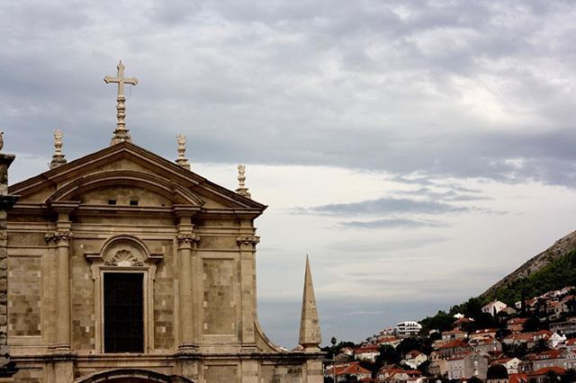 #Churchscape Dubrovnik Croatia This one - St. Agnatius - completed in 1725