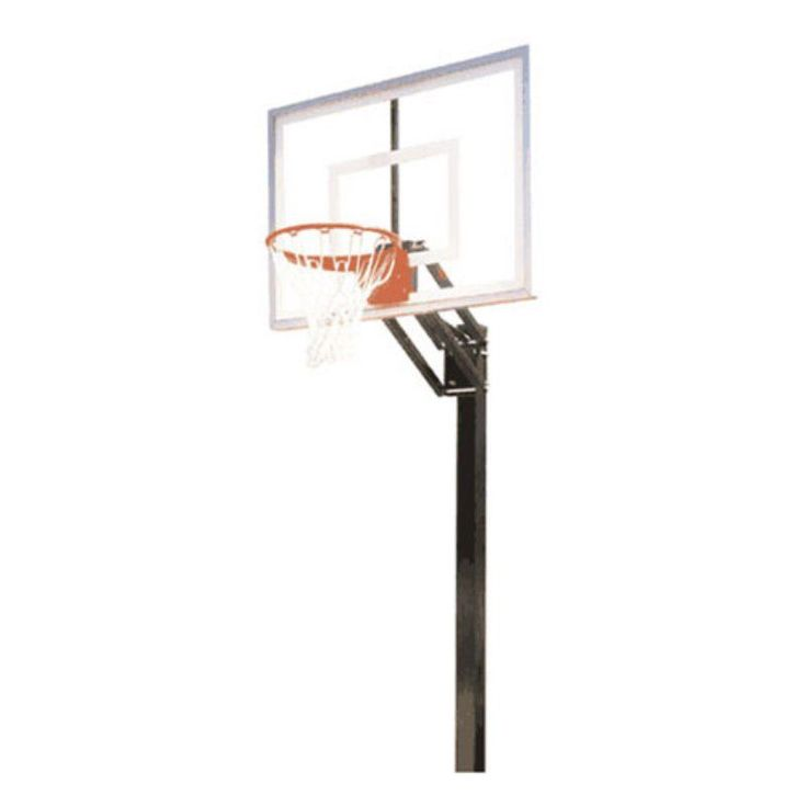 Delightful Convert Portable Basketball Goal To Inground Round Designs