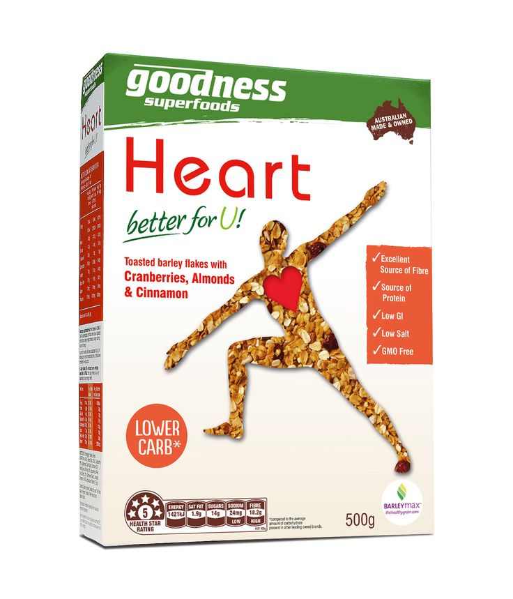 Goodness Superfoods | Heart cereal