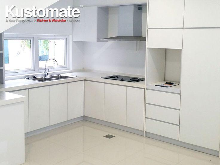 Best White Melamine Kitchen Cabinet Design Build For Dry Amp 400 x 300