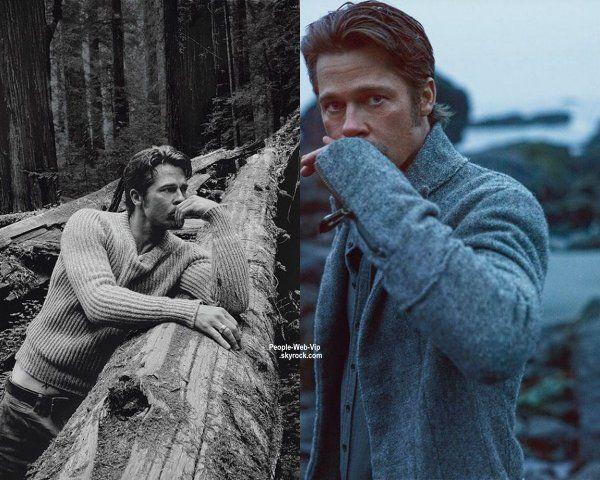 brad pitt | Prochainement a l'affiche du film 'Fury' Brad Pitt pose fièrement en ...