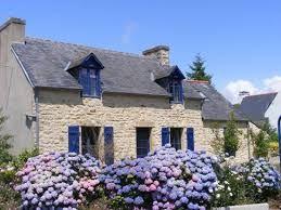 Maison du pays de Crozon. Finistere.  Brittany