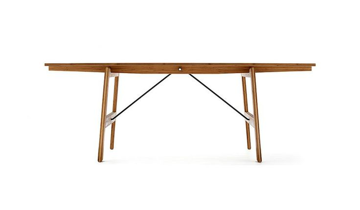 Trestle table by we do wood monoqi tables pinterest for Table 6 1 aisc
