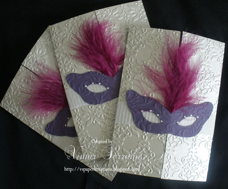 25+ best ideas about Masquerade Invitations on Pinterest ...