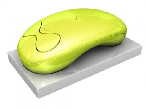 Coolest latest gadgets – Lexon LD 89- Cordless Mouse – Karim Rashid – New cool electronic technology gadgets blog | Sclick