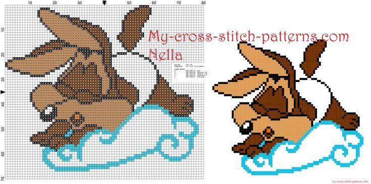 手机壳定制korean clothes cheap Baby Wile E coyote Looney Tunes on the cloud cross stitch patterns free    x