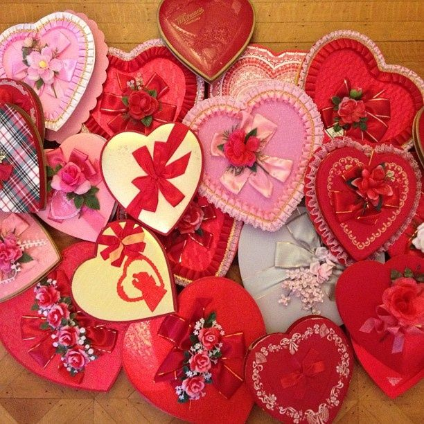 35 best Valentines Vintage Candy Boxes images on Pinterest | Candy ...
