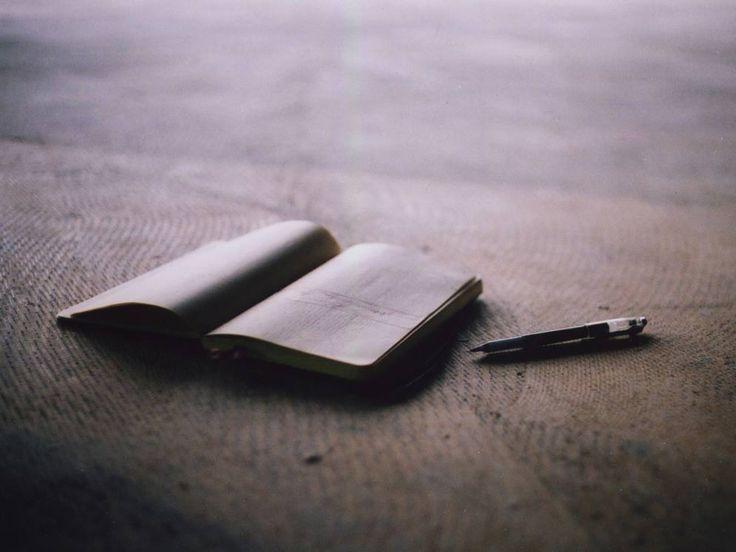«Для чего нужно записывать свои мысли?»