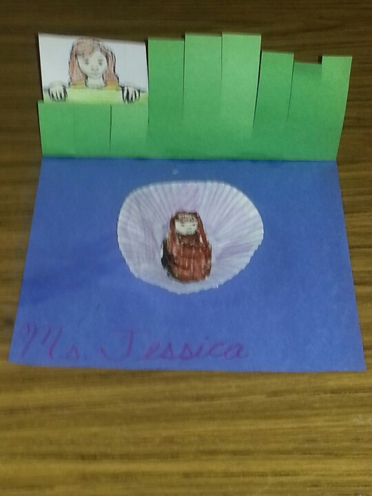 Chapter 4: craft 1 Baby Moses hidden in a basket