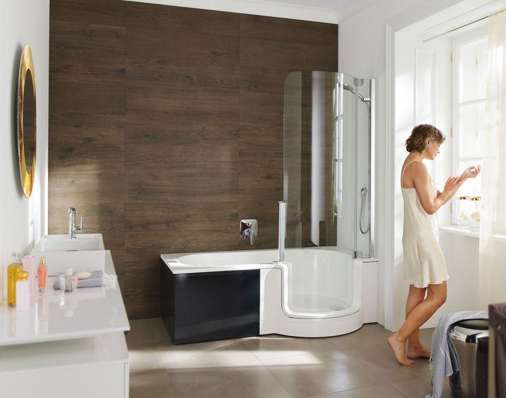 komfortabel und praktisch walk in duschen - Duschkabine Badewanne Mehr Praktisch Und Komfortabel