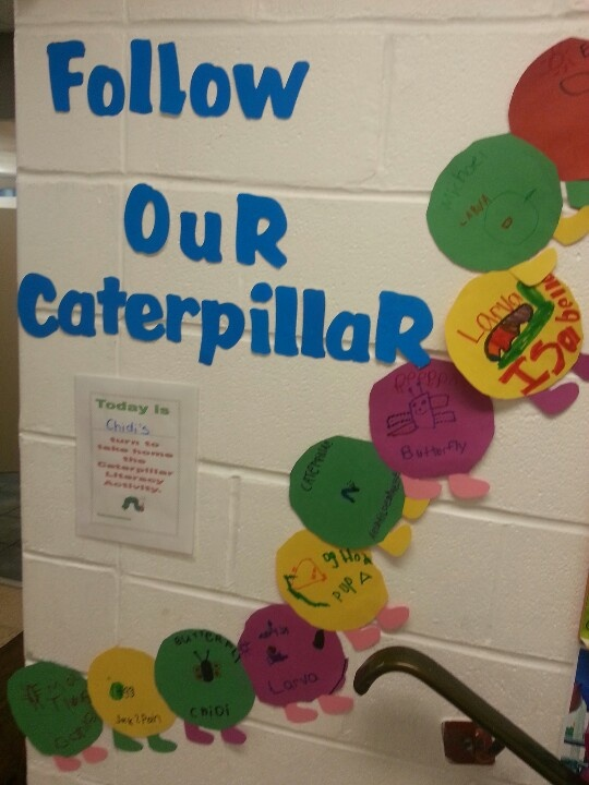 The learning caterpillar