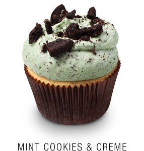 Georgetown Cupcake <3: Georgetown Cupcakes Recipes, Chocolate Chip Cupcakes, Cookie Cupcakes, Cream Cupcake, Dc Cupcakes, Mint Cookie, Cupcakes Mint Chocolate, Vanilla Cupcake