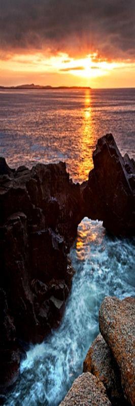 Stunning Irish sunset from blog.discoverirel...