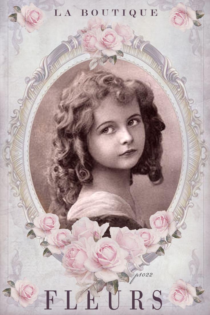 441 best vintage postcard children images on pinterest - Vintage bilder kostenlos ...