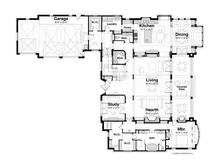 American Home Furniture Gilbert Az Minimalist Plans 21 Best Dream Home  Floor Plans Images On Pinterest  Craftsman .