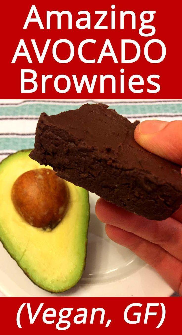 Avocado Brownies Vegan And Gluten Free Recipe Avocado Brownies Vegan Avocado Brownies Recipes