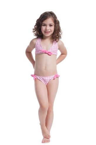 Moroccan Tile Bow Bikini Shoshanna Baby Girl 2013