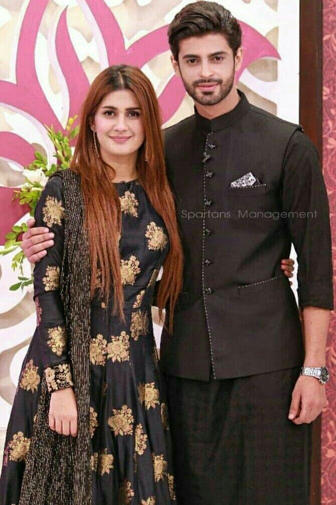 Kubra Khan And Saad Qureshi Celebrities Pinterest Aiman Khan